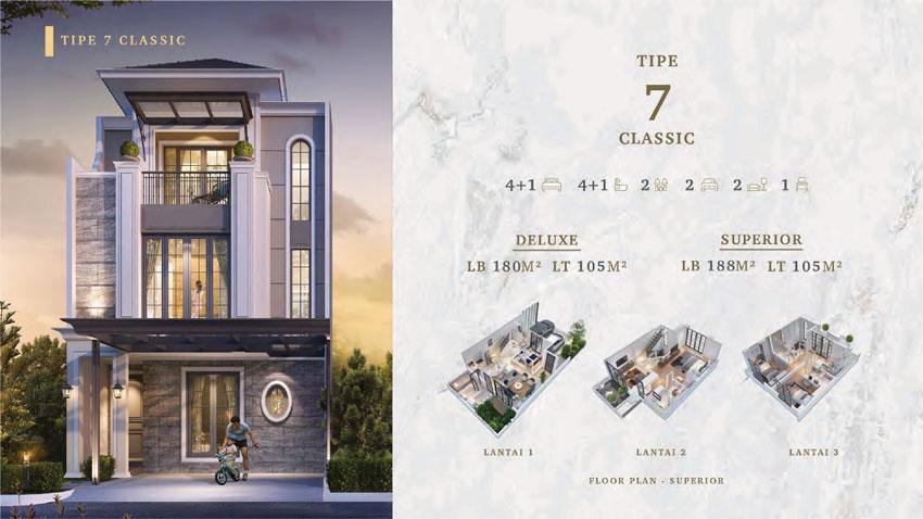 Rumah type 7 clasik